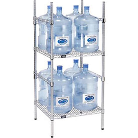 Water Jug Rack by Shelving Food Storage 5 Gallon Water Bottle Storage