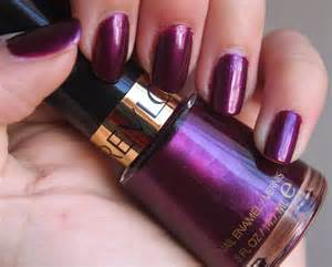 plum nail color alternative ego let s all rev our nailpolish collections
