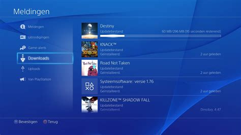 one update destiny day one patch 1 02 weighs in at 296mb on ps4