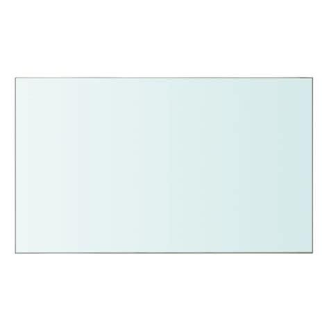 etagere 50 x 30 vidaxl panneau pour 233 tag 232 re verre transparent 50 x 30 cm