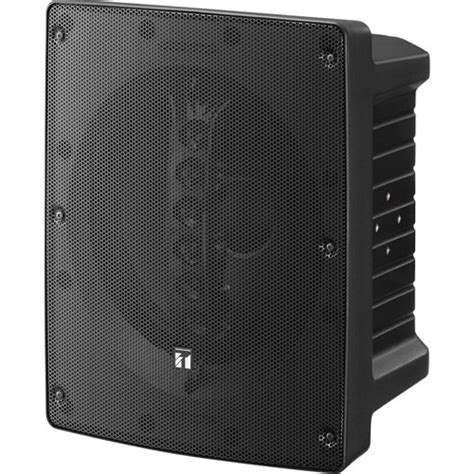 Speaker Toa Array toa electronics hs 1200b coaxial array speaker black hs 1200bt