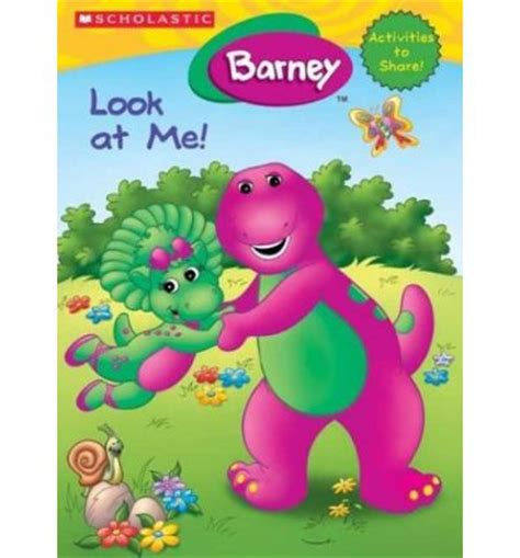 Book Barney Follow Me barney look at me activity book quinlan b jutta langer 9780439625036