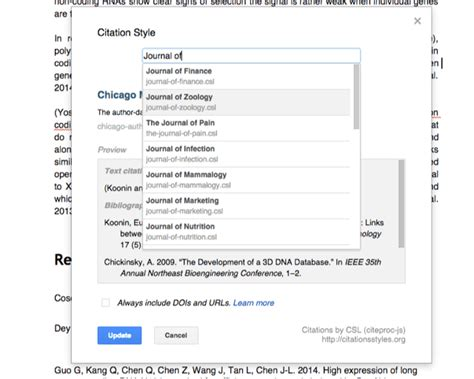 format footnotes google docs citations and bibliographies for google docs paperpile