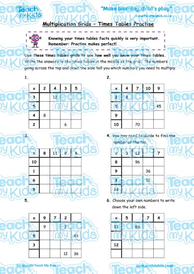 how to teach times tables how to teach a 6 year times tables brokeasshome com