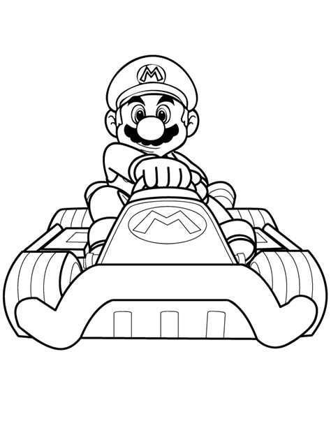 blank coloring pages mario mario kart 8 coloring pages coloring home