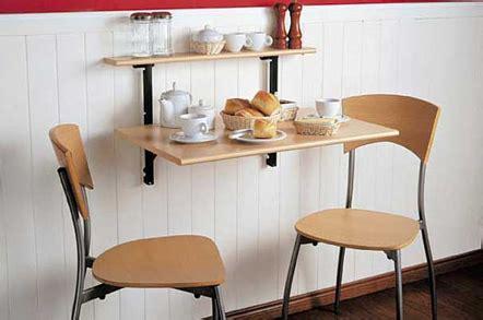 ideas de comedores  espacios reducidos iorigen