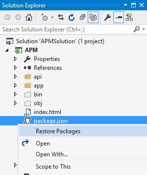 visual studio 2015 reset settings command line angular 2 getting started with a visual studio 2015 asp