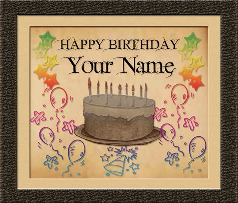 Happy Birthday Cards With Name And Photo 187 Images And Graphics