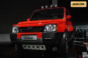 tata new cars in india 2014 show 2014 tata motors displayed safari storme ladakh car