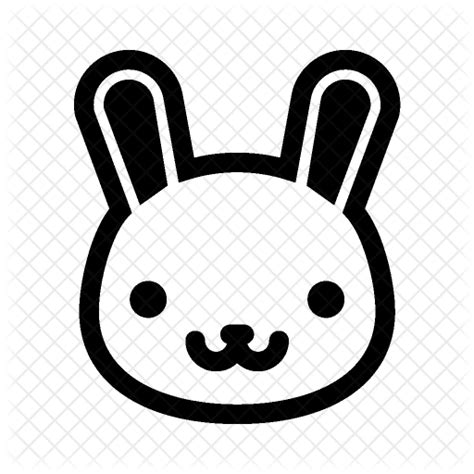 Bunny Ibon Black png rabbit transparent rabbit png images pluspng