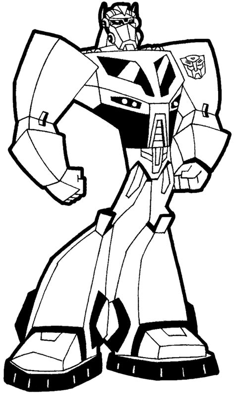 easy transformer coloring page how to draw optimus prime transformers in step by step