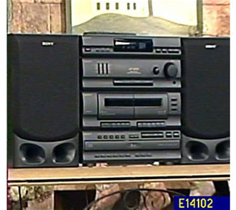 new rca rs22162s 5 cd changer player stereo audio shelf