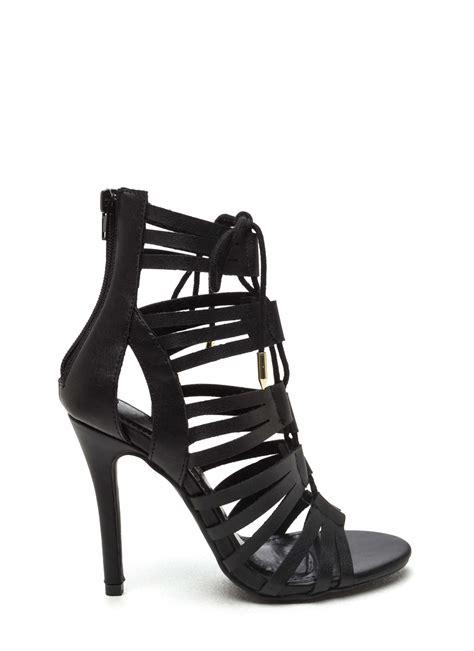 black gladiator high heels black gladiator heels is heel