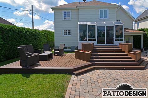 patio design by jas inc patio design construction design de patios pour une