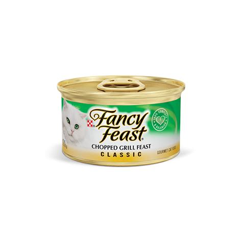 Fancy Feast Chopped Grill Feast Chunky Flavour 85 Gr cat products purina purina