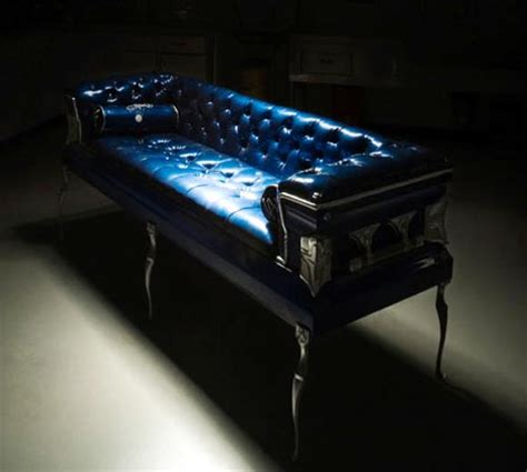 furnishing eternity a a a coffin and a measure of books furniture to die for coffin couches core77