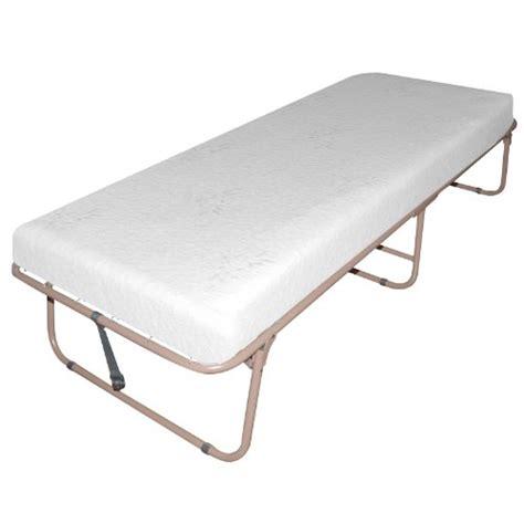 Memory Foam Folding Bed Sleep Master Traveler Deluxe Folding Memory Foam Guest Bed Plus Bonus Storage Bag Unlocked