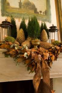 35 gorgeous holiday mantel decorating ideas with pine