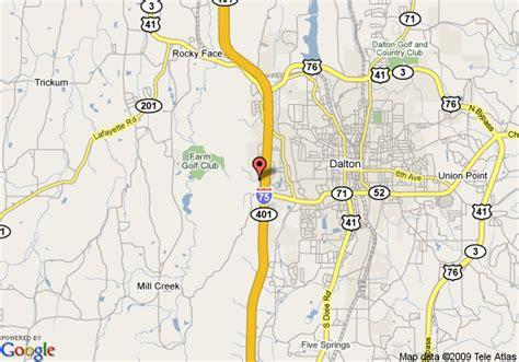 dalton map map of inn dalton dalton