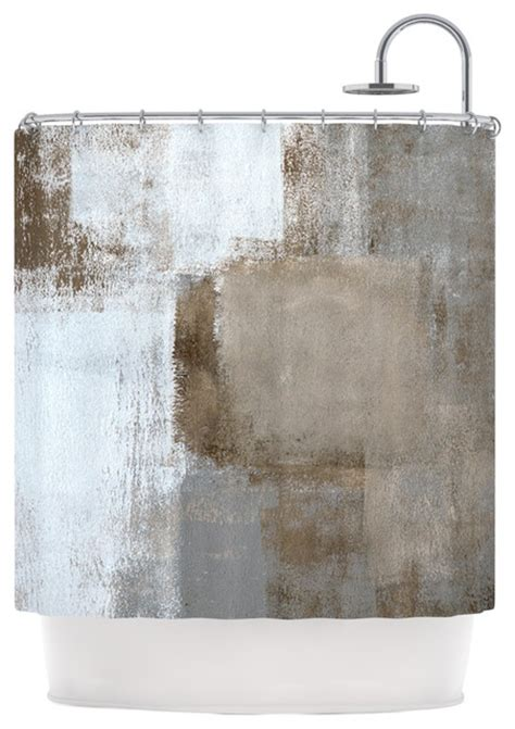 neutral shower curtain quot calm and neutral quot shower curtain by carol lynn tice