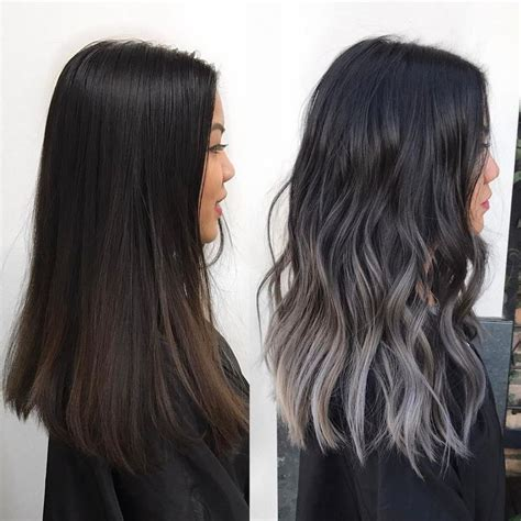 black grey hair best 25 ash grey ideas on pinterest grey ash brown hair