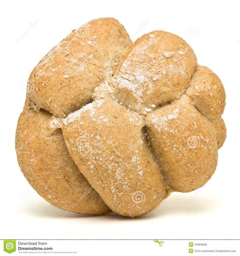Handmade White Bread - handmade bread roll royalty free stock images image
