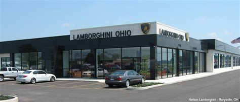 Lamborghini Dealership Ohio Panels Inc Nelson Lamborghini