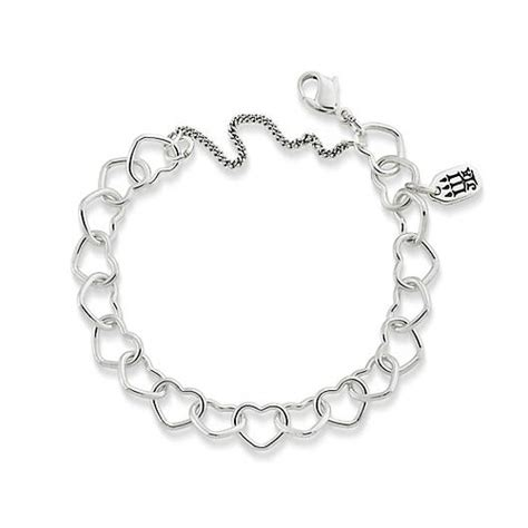 connected hearts charm bracelet avery
