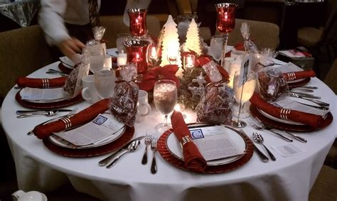 christmas luncheon table decorations 15 best images about womens brunch on