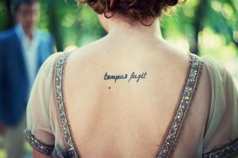 tempus fugit tattoo tempus fugit tattoos