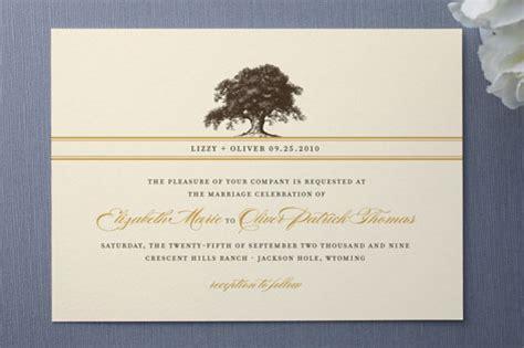 Wedding Invitation Templates Oak Tree Wedding Invitations Easytygermke Com Invitation Oak Tree Wedding Invitation Templates