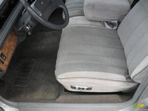 slate gray interior 1990 buick lesabre custom sedan photo