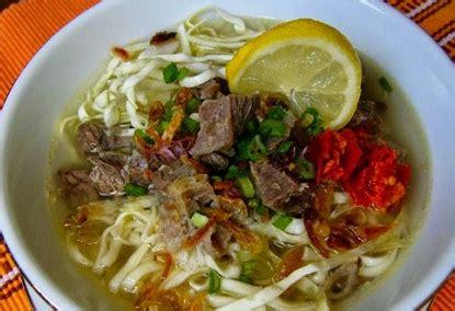 cara membuat soto ayam nikmat cara membuat mie soto rondo enak nikmat buku masakan