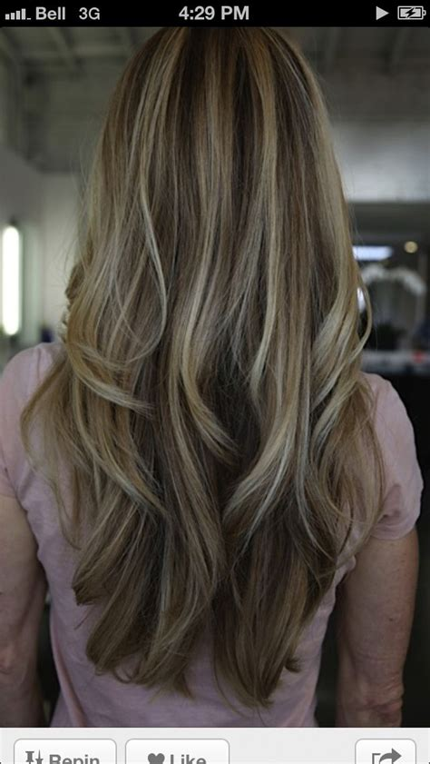 high and low lights high and low lights hair coloring pinterest