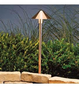 Led 12v Landscape Lighting Kichler Lighting Outdoor Led Landscape 12v Led Path Spread In Copper 15839co