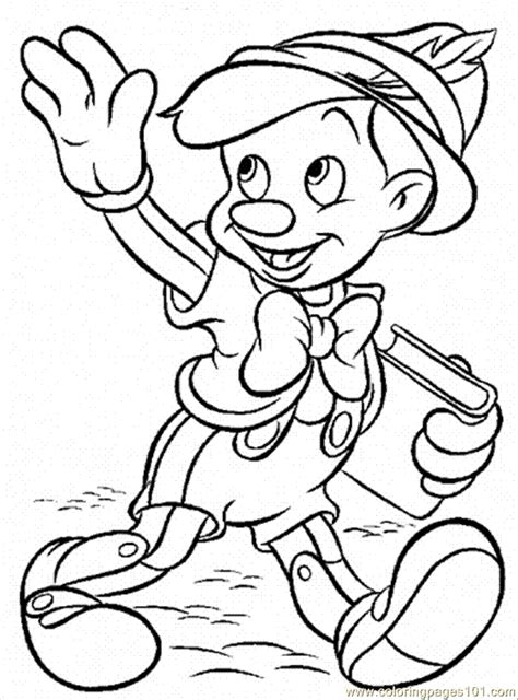 Coloring Page pinocchio coloring pages coloring pages