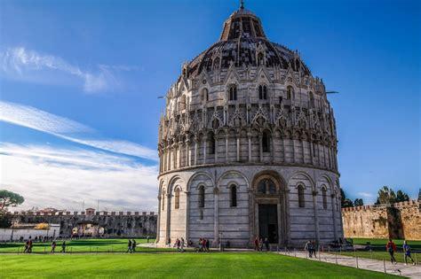 places to visit in pisa il battistero di pisa visit tuscany