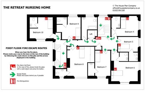 fire escape floor plan best photos of home fire plan template fire safety
