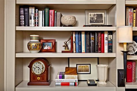how to style bookcases that tell a story nell