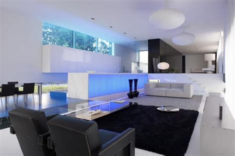 modern homes decor extravagant ultra modern house lofthouse by luc binst digsdigs