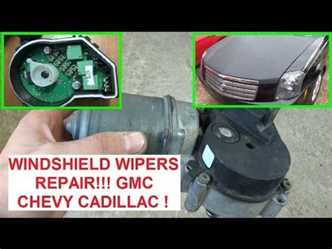 repair windshield wipe control 2003 chevrolet astro navigation system windshield wipers not wroking or cannot turn off cadillac cts dts chevrolet buick gmc youtube