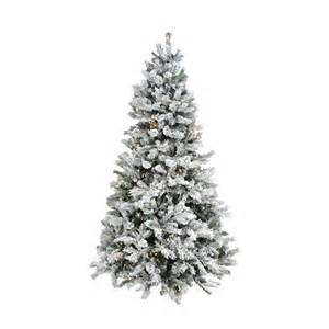 lightly flocked artificial trees winter decorating ideas unique