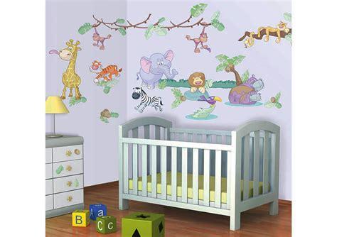 Wandtattoo Kinderzimmer Safari by Walltastic Wandsticker Wandtattoo Kinderzimmer Baby