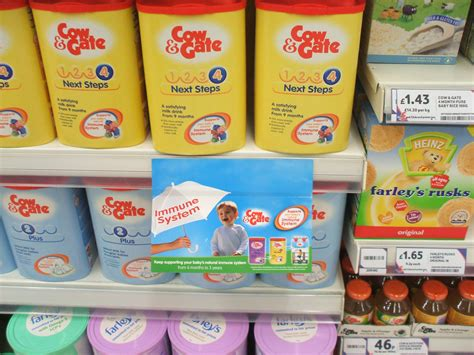 Shelf Of Formula by Boycott Nestle And Other To Protect Infant Health