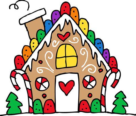 Cute Gingerbread House Clipart Free Clip Art