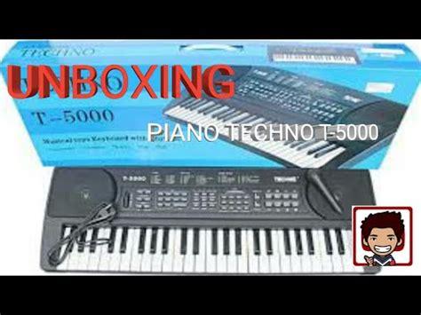 Keyboard Piano Techno T 8100 unboxing keyboard techno t 5000