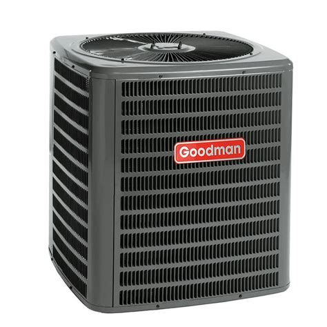 capacitor goodman air conditioner 1 5 ton goodman 16 seer r 410a air conditioner condenser