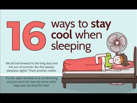 Ways To Stay All Summer by 16 Trick To Sleep All In A Weather