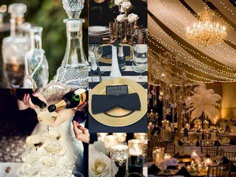 Great Gatsby Wedding Decor   CAA Speakeasy   Gatsby