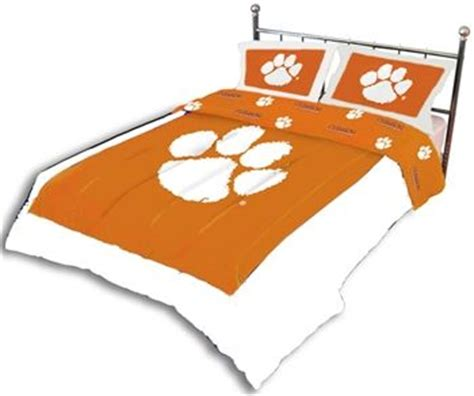 clemson bedding pin by twin xl on college dorm bedding sets we love pinterest